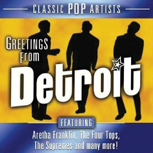 1 von 1 - Greetings from Detroit (2005, US) Temptations, Four Tops, Chairman of the.. [CD]