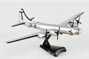 POSTAGE-STAMP-USAAF-B-29-034-T-SQUARE-034-1-200-SCALE-DIECAST-METAL-MODEL
