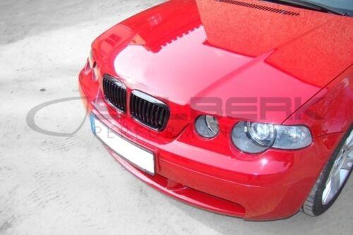 NERO LUCIDA renale FRONT GRILL 3er BMW e46 Compact m3 salberk 4601