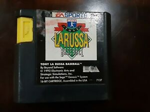 Tony La Russa Baseball (Sega Genesis, 1993)  Cartridge only - Tested!!