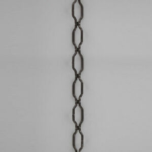 BLACK-WROUGHT-IRON-STYLE-Hanging-Lamp-Chandelier-Chain-36-034-long-10Ga