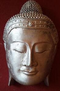 Steinfigur kopf in steinguss buddha shiva deko garten tier for Steinfigur buddha garten