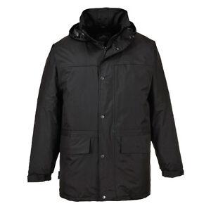 712417bfc La imagen se está cargando Portwest-Hombre-Oban-forro-polar-Chaqueta -exterior-ropa-