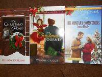 Harlequin Romance Christmas Theme 3 Pack Paperback Book Set 781