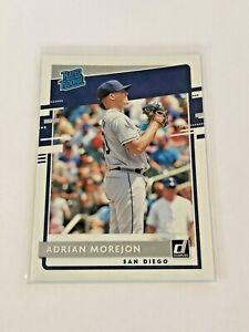 2020 Donruss Baseball Rated Rookie - Adrian Morejon RC - San Diego Padres