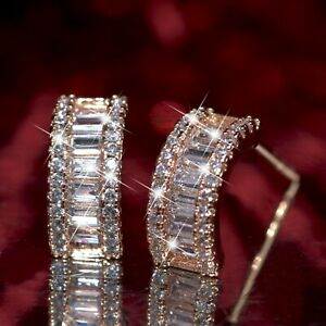 18k-yellow-gold-gf-stud-made-with-Swarovski-crystal-fashion-designer-earrings