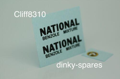 "Dinky transferencia 443 S//Baker petrolero /""Nacional benceno/"""
