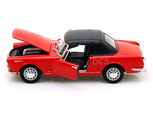 Welly 1960 ALFA ROMEO SPIDER 2600 RED 1//24 Diecast Car 24003HW-RD