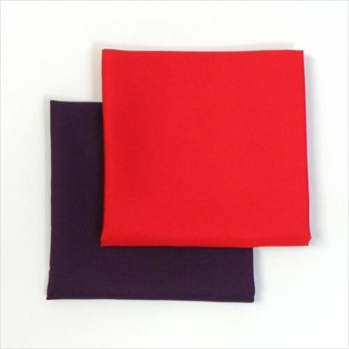 JAPANESE TEA CEREMONY Fukusa Japanese cloth  (color:red