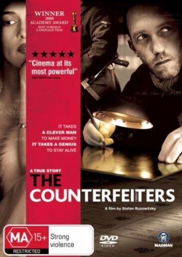 1 of 1 - The Counterfeiters - DVD Movie - Devid Striesow Karl Markovics - Drama -