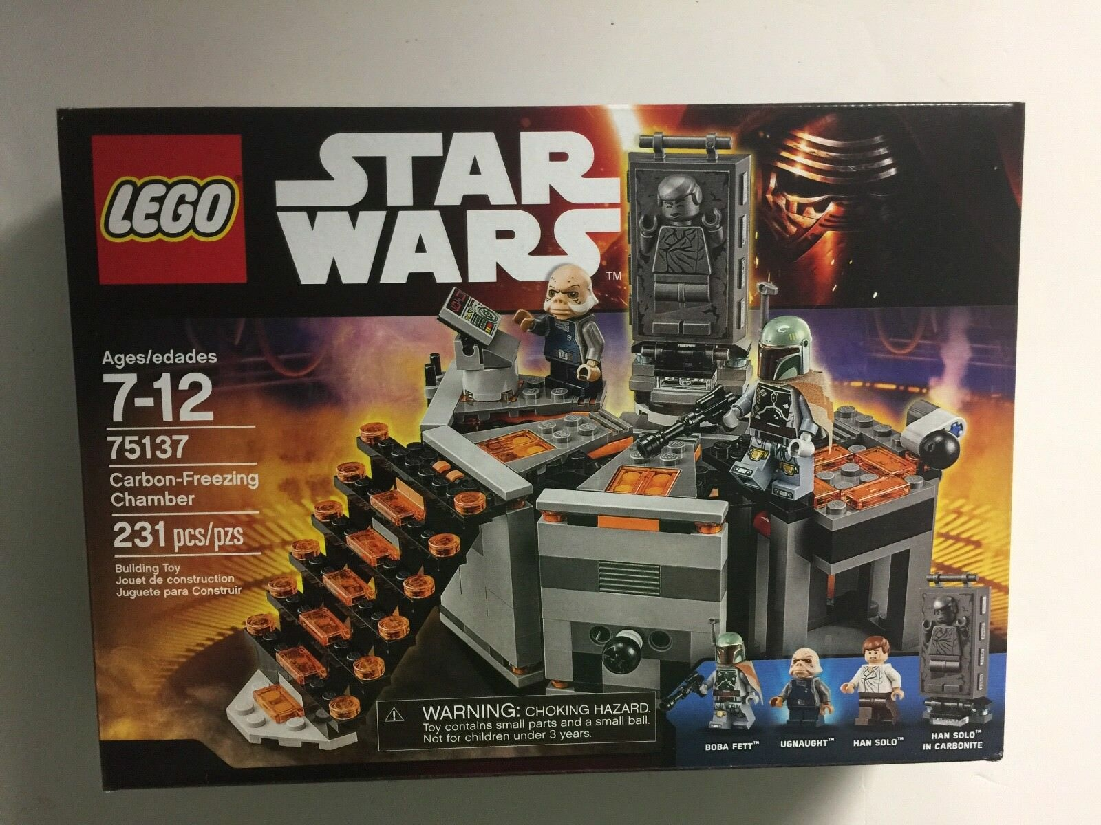 Lego Star Wars 75137 Carbon-Freezing Chamber New Factory Sealed Boba Fett
