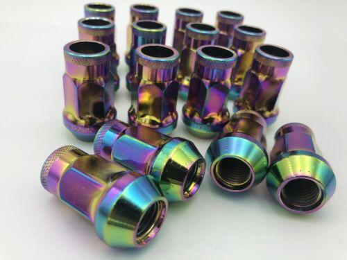 Honda Civic Lug Nuts 12x1.5 Neo Chrome 20 Pieces By Rad Parts