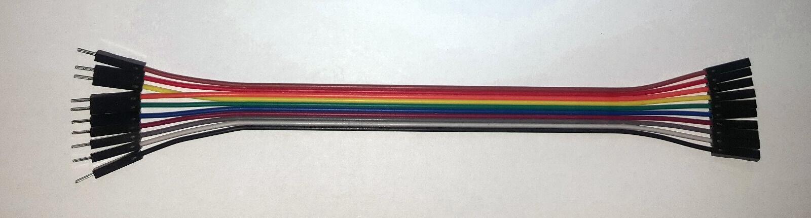 female female Jumper Wire Kabel 10P 10cm Steckbbuchs.Raspberry Arduino Steckbr