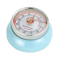 Zassenhaus Retro Collection speed Magnetic Kitchen Timer - Light Blue