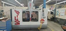 Used Haas Vf 4 Cnc Vertical Machining Center Mill 4th Ready Quick Code Macros 97