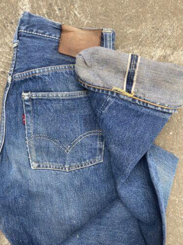 Vintage Levis Jeans Vintage Redline Jeans 1950s Le