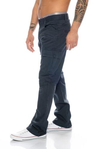 Uomo Pantalone Cargo Pantaloni Outdoor Chino Pant Pantaloni Uomo Tempo Libero h-107 w28-w38