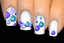 thumbnail 1 - Blue-Baubles-Christmas-Nail-Decal-Xmas-Water-Transfer-Sticker-Tattoo