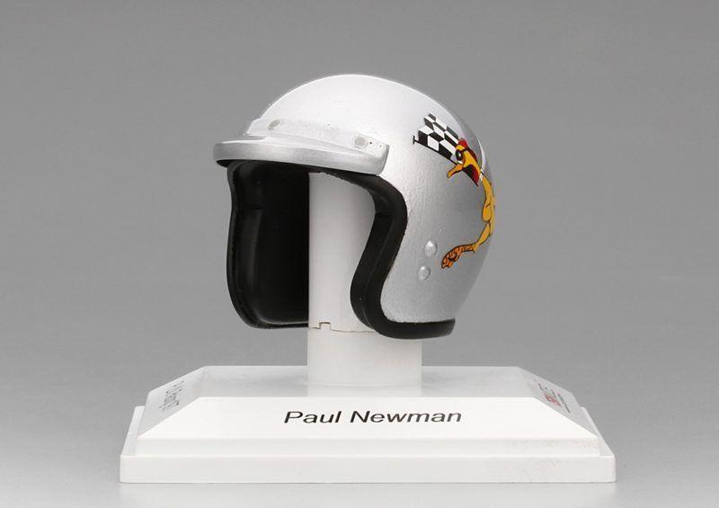 Helmet Helmet Helmet Paul Newman 1977 Replica 1 8 Model TRUE SCALE MINIATURES 733004