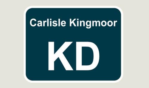 1x Carlisle Kingmoor Train Depot Sticker//Decal 100 x 77mm
