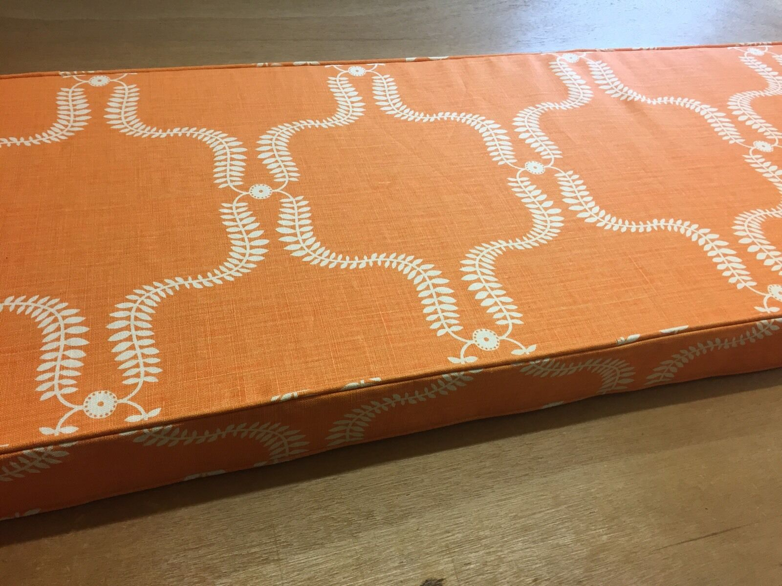 Vanessa Arbuthnott Up The The The Garden Path Pumpkin Seat Pad Made To Measure 12cdde