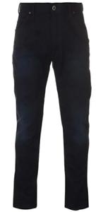 G Star Färöern Tapered Jeans 3d aged blau Herren Größe UK w30 l32 * ref134