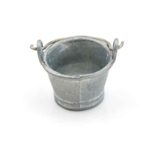 Dollhouse Miniature Water Bucket 1:12 Fairy Home Kitchen Pretnd Play Game PLF