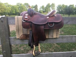 Crates Lady Reiner Saddle Model #4520