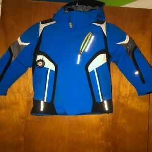 Obermeyer-Cobra-Kids-Blue-Snow-Jacket-Toddler-Blue-Black-Size-4