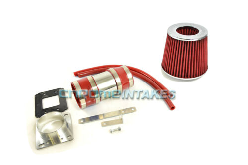 RED NEW AIR INTAKE INDUCTION KIT S FOR 88-95 TOYOTA PICKUP//4RUNNER 3.0 3.0L V6