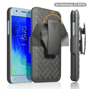 Details about For Samsung Galaxy J3 Aura US Cellular Holster Case Belt Clip  Slim Fit Black