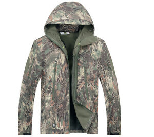 b1cb3674a0a Image is loading Green-Snake-Camo-Brown-Python-Hunting-Clothing-Waterproof-