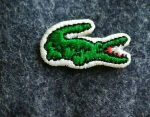 Parche bordado de Lacoste a tu estilo. Lacoste Embroidered Patch To Your Style