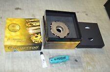 Ingersoll 3sj6h 0407557r01 Gold Rush 4 Face Mill Cutter Radial Drive Slotter