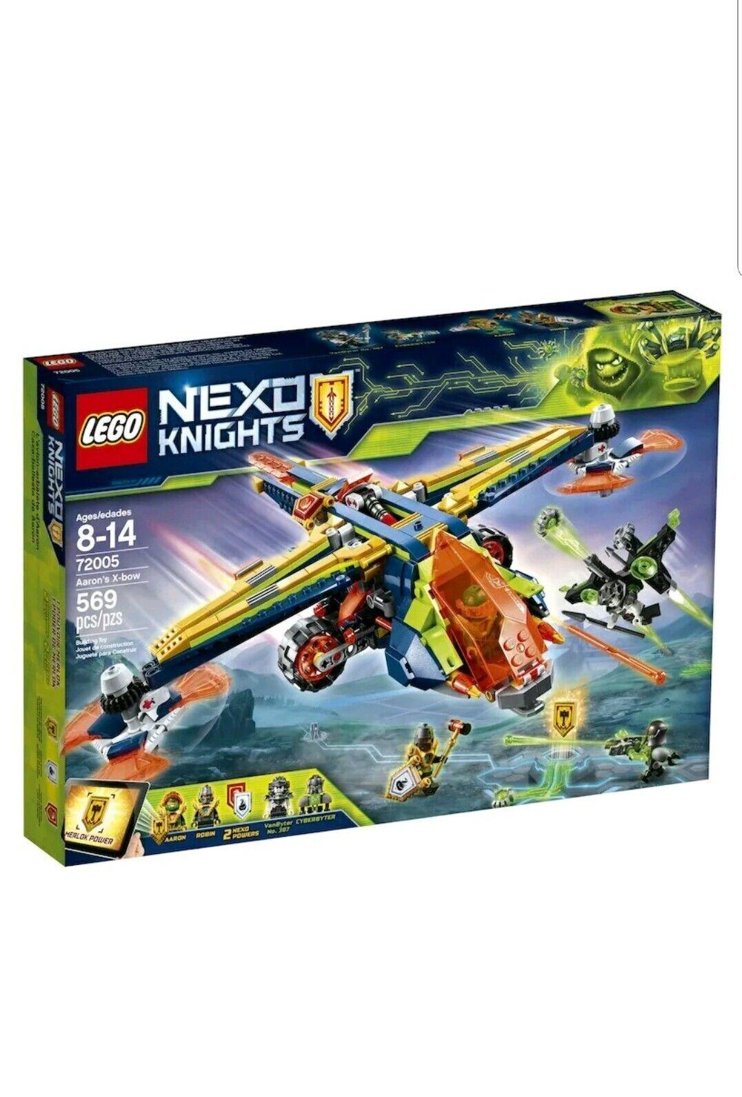 LEGO Nexo Nexo Nexo Knights Aaron's X-Bow 72005 Building Kit (569 Piece) NEW SEALED 1fbf00