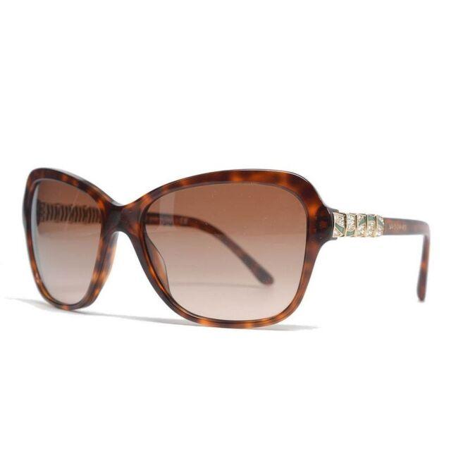77a5f27562 Bvlgari Sunglasses 8142b 526813 Blonde Havana Brown Gradient for ...