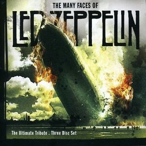 Many-faces-of-led-zeppelin-ultimate-tribute-3-CD-NEUF