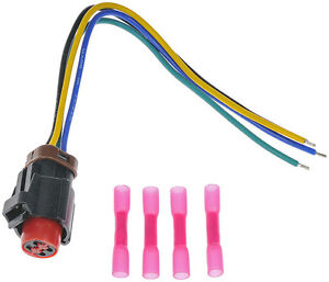 vacuum pump pigtail wiring harness connector fits 1994. Black Bedroom Furniture Sets. Home Design Ideas