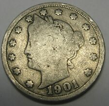 1901 Liberty V Nickel in the GOOD Range A Great Filler Coin DUTCH AUCTION