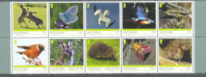 Frugal Isle Of Man Wildlife Set Neuf Sans Charnière 2019-oiseaux-insectes-hérisson - Papillons-ects-hedgehog-butterfliesfr-fr Afficher Le Titre D'origine