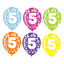Happy-5th-Birthday-AGE-5-Party-Balloons-Banners-Badges-amp-Decorations-Helium-GIRL thumbnail 10