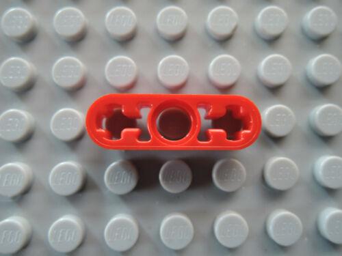 LEGO 10 x Technic liftarm piatto 6632 1x3 ROSSO