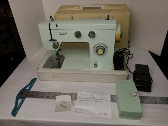 Vintage Montgomery Ward Signature UHT J40 Sewing Machine Travel Fascinating Vintage Signature Sewing Machine