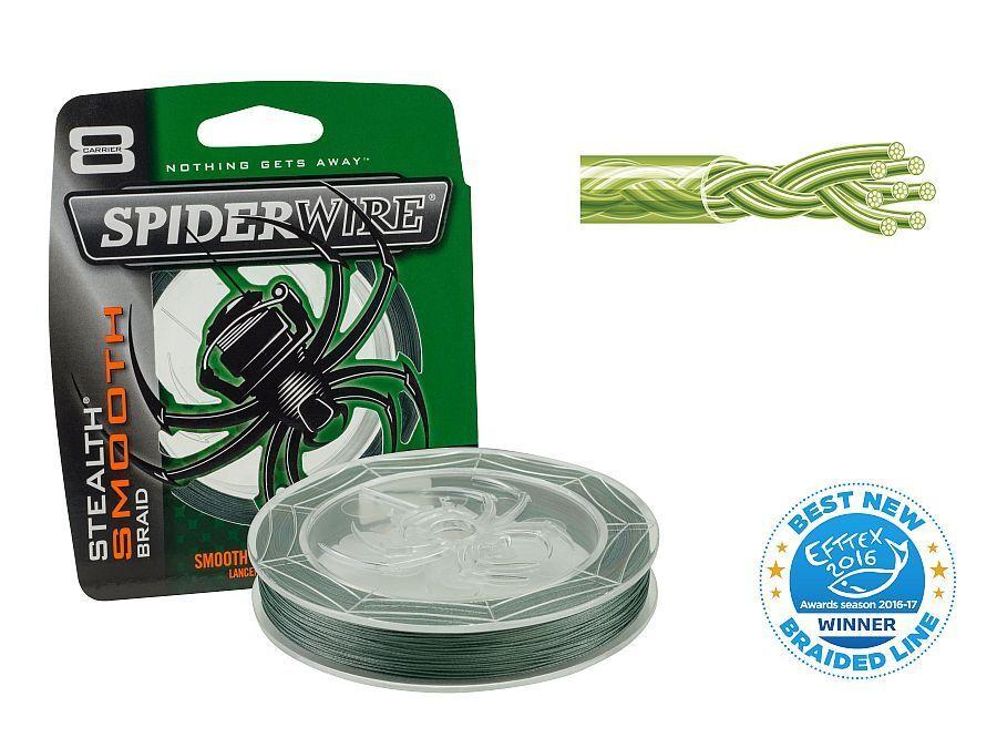 Spiderwire Stealth Smooth 8 Moss Green   300m   filo da pesca trecciato