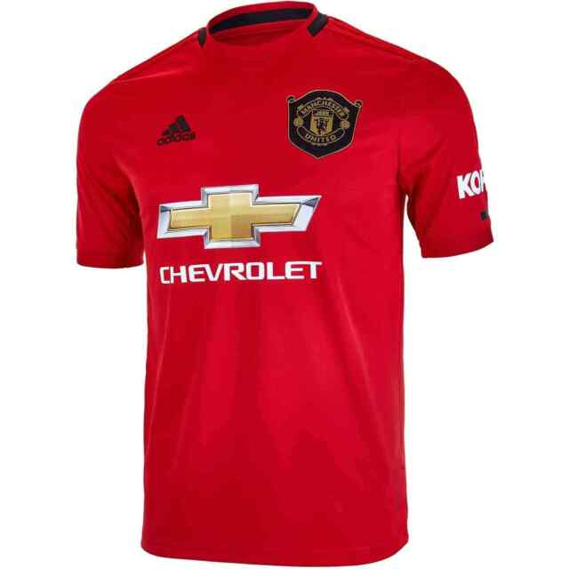adidas Manchester United Man U FC Red Home Soccer Jersey Dw4138 ...