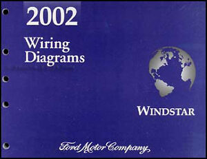 2002    Ford       Windstar    Van    Wiring       Diagram    Manual Electrical Schematic OEM Original   eBay
