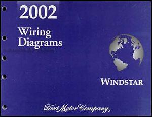 2002    Ford       Windstar    Van    Wiring       Diagram    Manual Electrical Schematic OEM Original   eBay