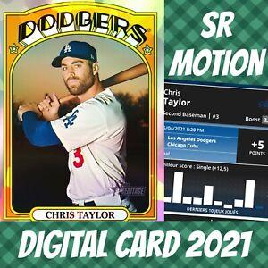 Topps Bunt 21 Chris Tyler Heritage Refractor 2021 Digital