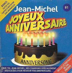 Joyeux Anniversaire Jean Michel 10 Titres Ebay