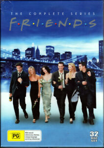 039-Friends-039-The-Complete-Series-New-amp-Sealed-32-Movie-DVD-Disc-Box-Set